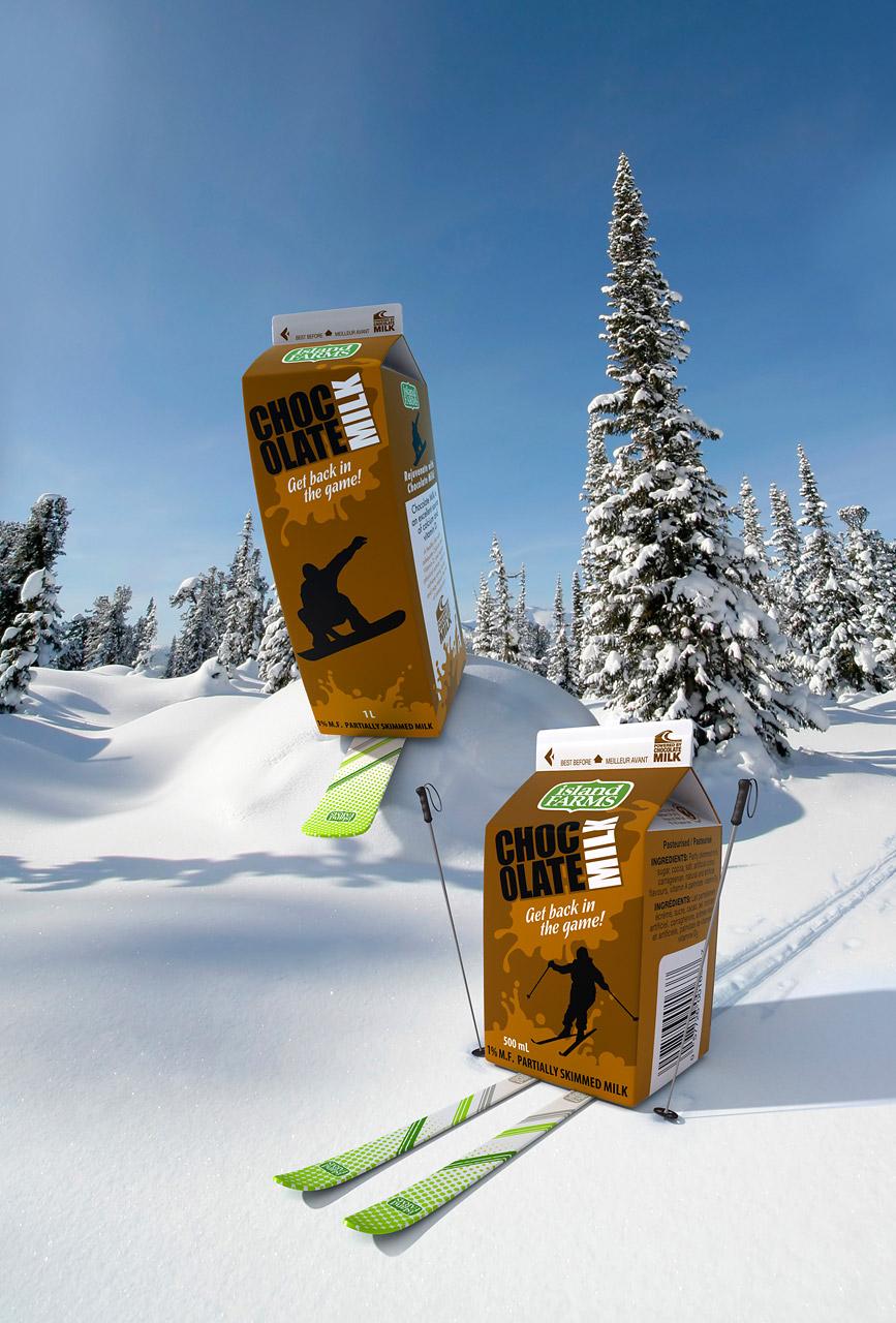 Skiing Milk